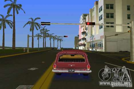 Volga GAZ 2402 para GTA Vice City visión correcta