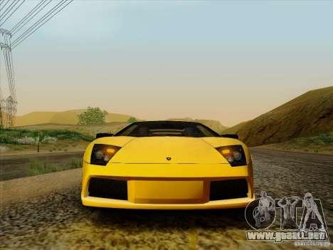 Lamborghini Murcielago LP640-4 para la visión correcta GTA San Andreas