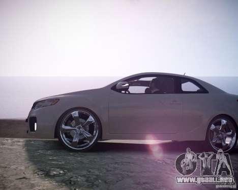 Kia Cerato Koup 2011 para GTA 4 visión correcta