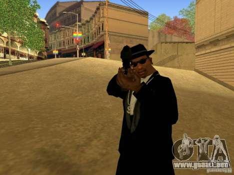 Desert Eagle MW3 para GTA San Andreas quinta pantalla