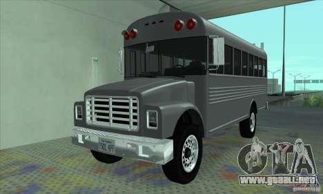 Civil Bus para GTA San Andreas