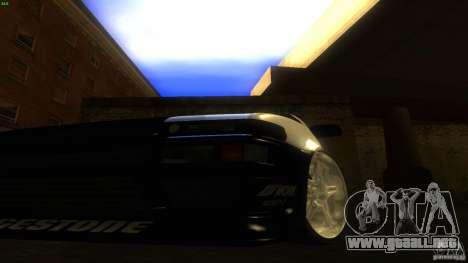 Toyota AE86 Trueno Touge Drift para visión interna GTA San Andreas