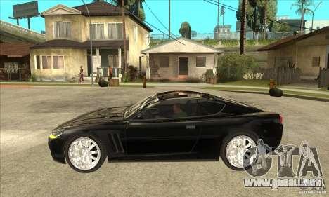 GTA IV SuperGT para GTA San Andreas left