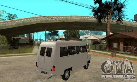 FSD Nysa 522 para GTA San Andreas vista hacia atrás