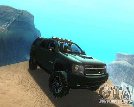 Chevrolet Suburban Crankcase Transformers 3 para la visión correcta GTA San Andreas