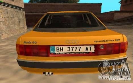 Audi 90 Quattro 20V para GTA San Andreas left