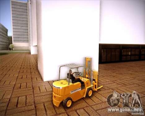 Caterpillar Torocat para GTA San Andreas left