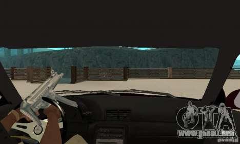 Nissan Skyline R32 Drift Edition para la visión correcta GTA San Andreas