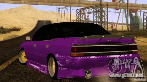 Subaru Legacy Drift Union para GTA San Andreas left