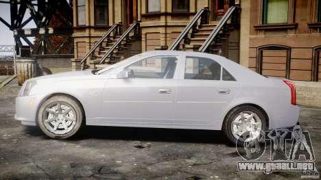 Cadillac CTS para GTA 4 vista interior