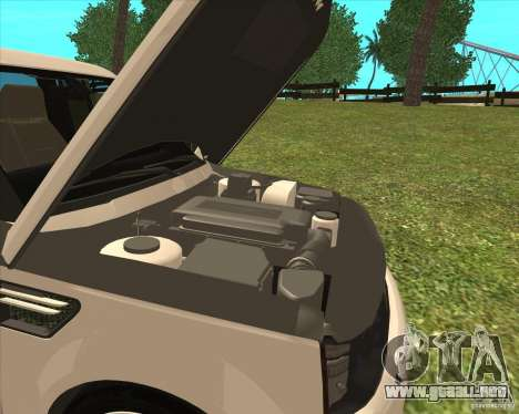 Range Rover Sport 2012 para la visión correcta GTA San Andreas