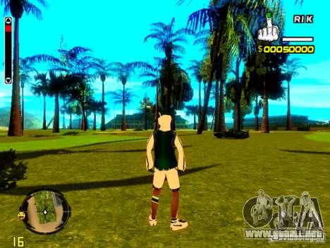 Piel vago v5 para GTA San Andreas tercera pantalla