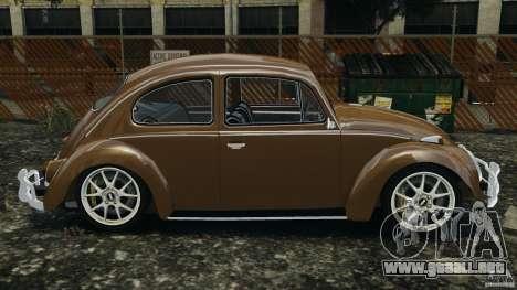 Volkswagen Fusca Gran Luxo v2.0 para GTA 4 left