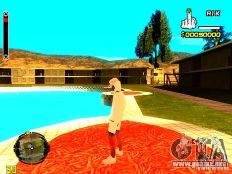 Piel vago v9 para GTA San Andreas sexta pantalla