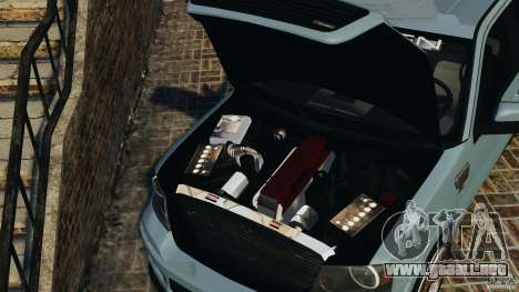 Saleen S331 [Final] para GTA 4 vista interior