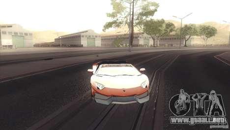 2013 Lamborghini Aventador LP700-4 Roadstar para GTA San Andreas left