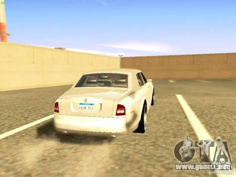 Rolls-Royce Phantom V16 para GTA San Andreas left