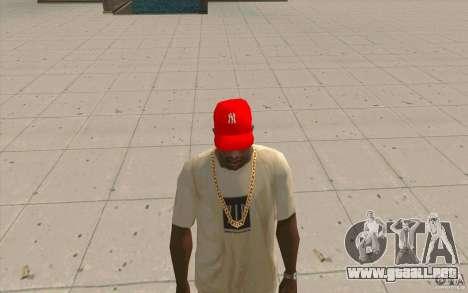 Newyorkyankiys tapa roja para GTA San Andreas segunda pantalla