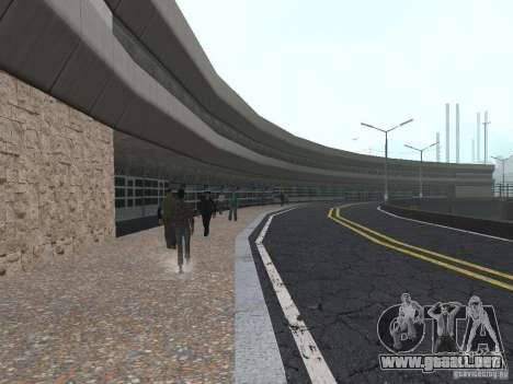 New Airport San Fierro para GTA San Andreas