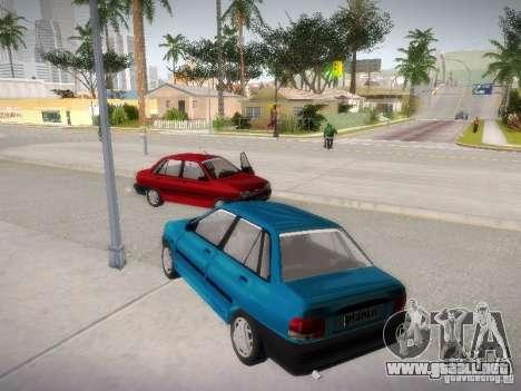 Kia Pride 131 para la visión correcta GTA San Andreas