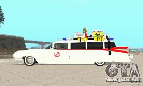 Ghostbusters ECTO 1 para la visión correcta GTA San Andreas