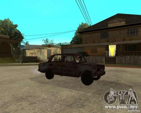 VAZ-2106 para la visión correcta GTA San Andreas