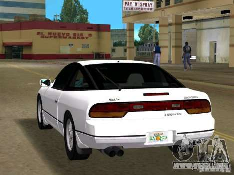 Nissan 200SX para GTA Vice City left
