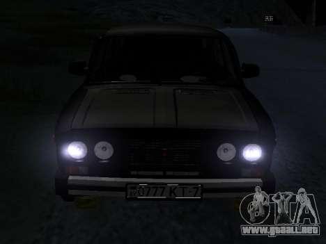 21065 VAZ v2.0 para visión interna GTA San Andreas