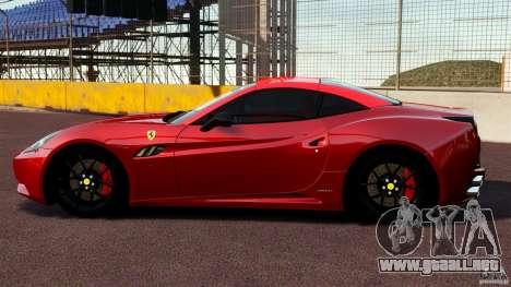 Ferrari California Novitec para GTA 4 left