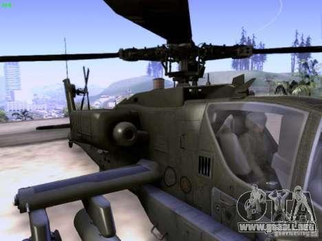 HD Hunter para vista inferior GTA San Andreas