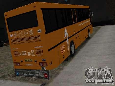 MAZ 152A para GTA 4 Vista posterior izquierda