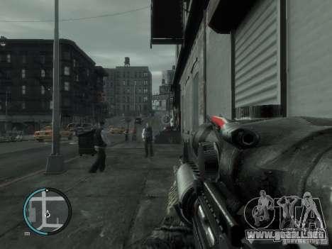 La M4a1 para GTA 4 segundos de pantalla