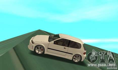 Honda Civic SiR II Tuning para GTA San Andreas left