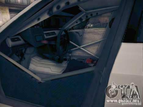 BMW 320SI Drift para GTA San Andreas interior