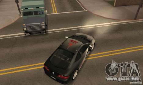 Acura RSX New para vista inferior GTA San Andreas