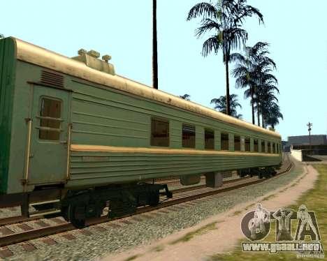 El coche de los ferrocarriles rusos 2 para GTA San Andreas