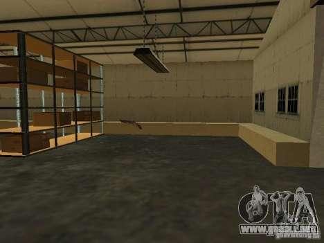 Renovación de la base militar en el puerto para GTA San Andreas sexta pantalla