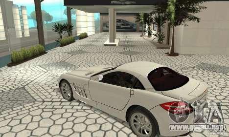 Mercedes-Benz McLaren V2.3 para visión interna GTA San Andreas