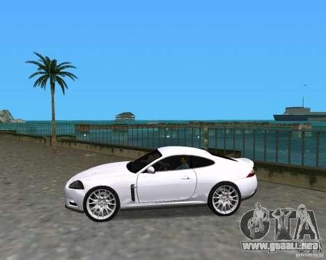 Jaguar XKR S para GTA Vice City left