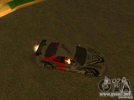 Nissan Skyline R34 Nismo para visión interna GTA San Andreas