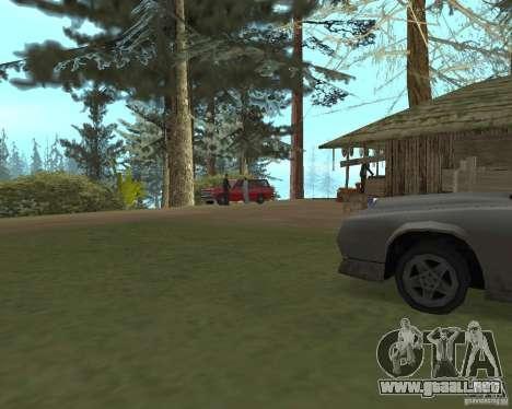 En una visita a la abuela para GTA San Andreas segunda pantalla