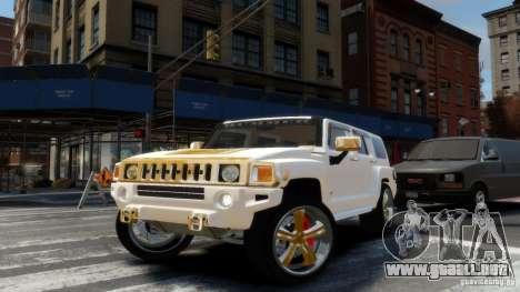 Hummer H3 2005 Gold Final para GTA 4