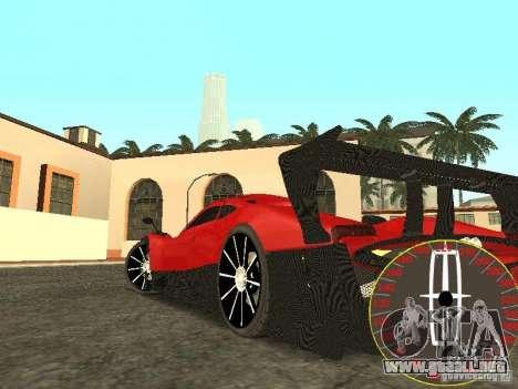 Nuevo velocímetro Lincoln para GTA San Andreas segunda pantalla