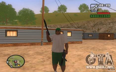 Double weapons para GTA San Andreas