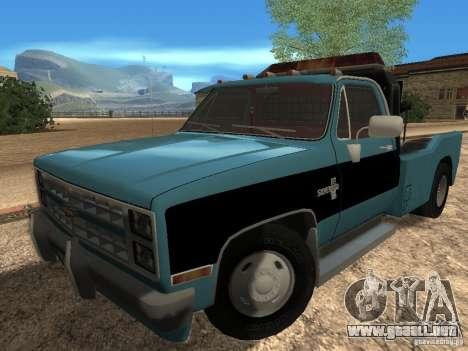 Chevrolet Towtruck para GTA San Andreas left
