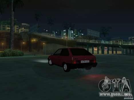 VAZ 2108 drenaje para visión interna GTA San Andreas