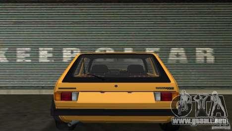 Volkswagen Golf Mk1 GTI para GTA Vice City visión correcta