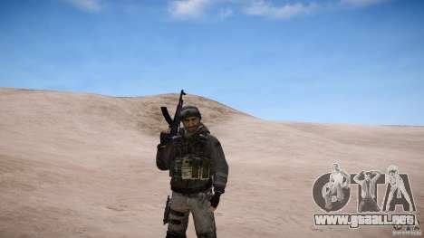 Precio del capitán de COD MW3 para GTA 4 adelante de pantalla