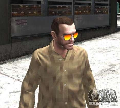 Sunnyboy Sunglasses para GTA 4 tercera pantalla