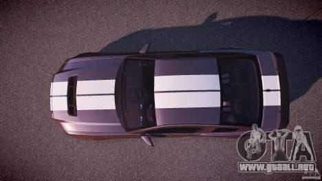 Ford Mustang Shelby GT500 2010 (Final) para GTA 4 visión correcta
